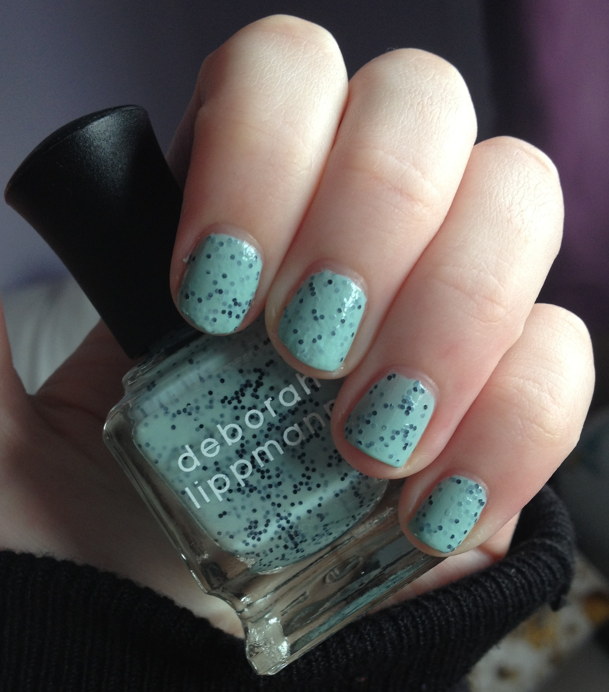 Deborah Lippmann Rockin\' Robin nail polish review | Through The ...