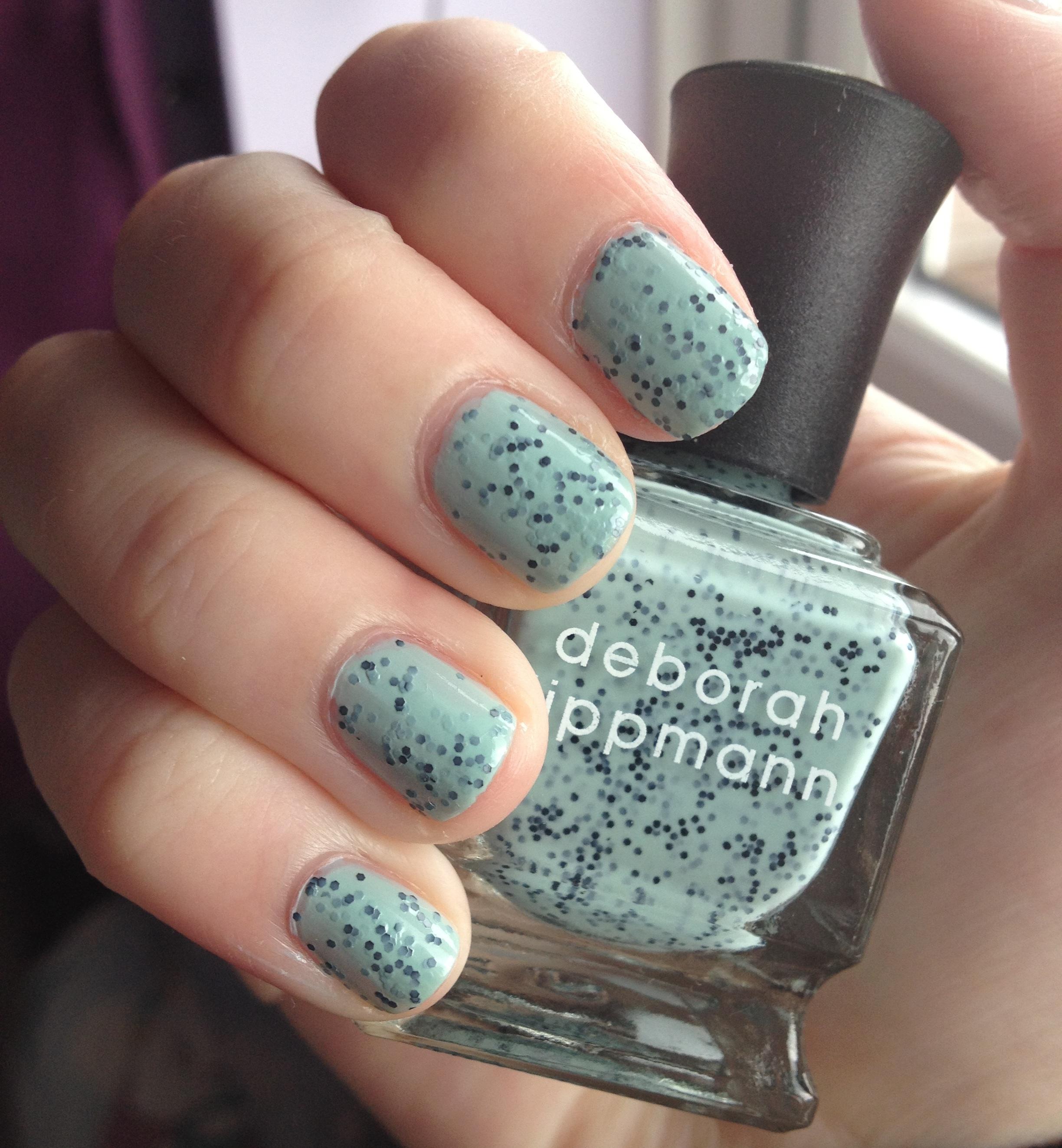 Deborah Lippmann Rockin\' Robin nail polish review | Through The ...