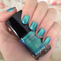 Chanel Azure nail polish review