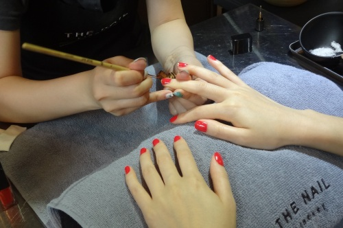 nail library hong kong french tips