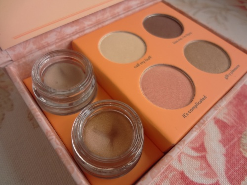 benefit most glamorous nudes creaseless cream shadows