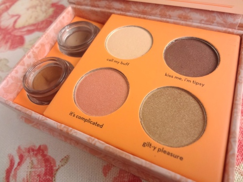 benefit most glamorous nudes powder eye shadows