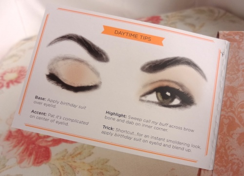 benefit world famous neutrals daytime tips