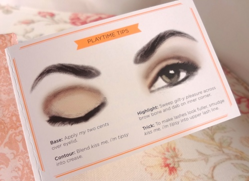 benefit world famous neutrals playtime tips