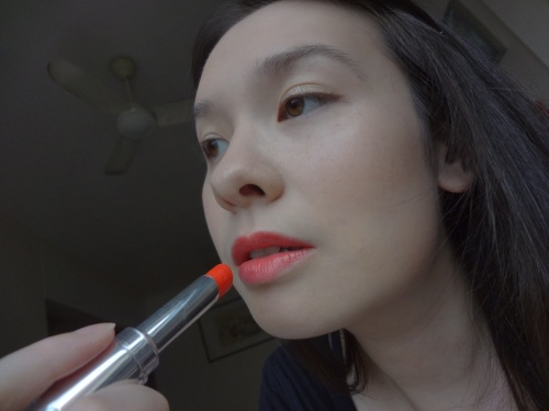 shu uemura baby flame lipstick