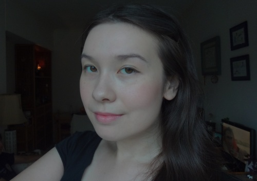 mac stay pretty blush sunny seoul lipstick fotd