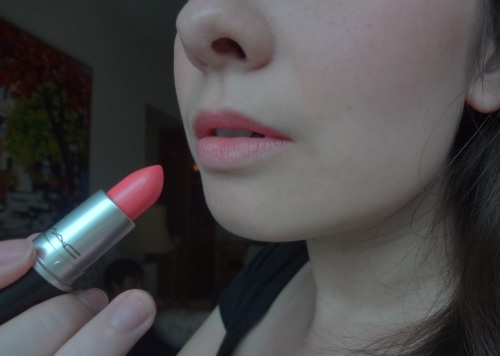 mac sunny seoul lipstick look