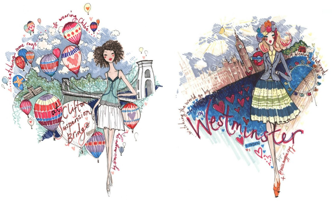miss magpie fashion spy chloe vivienne westwood Fashion Background