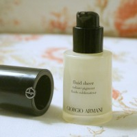 Giorgio Armani Fluid Sheer Radiant Pigment highlighter in #13 review