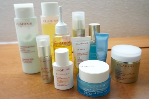 clarins hong kong faces facial