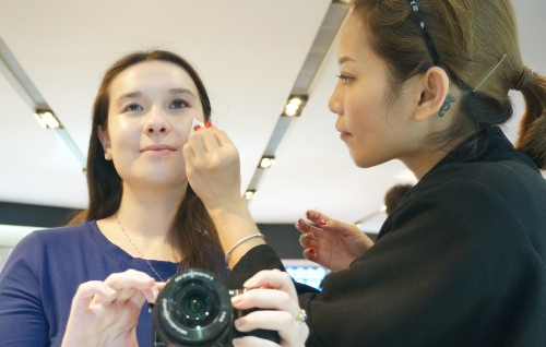 nars make-up service faces hong kong