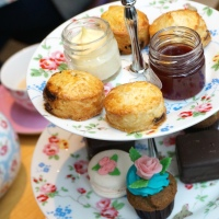 Cath Kidston afternoon tea at FEAST review – it's all coming up roses
