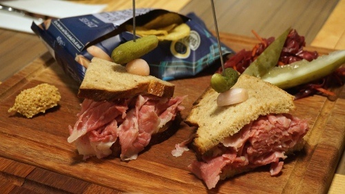 butchers club deli hong kong corned beef sandwiches