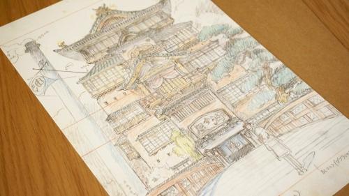 Hong Kong Heritage Museum Studio Ghibli Spirited Away Print