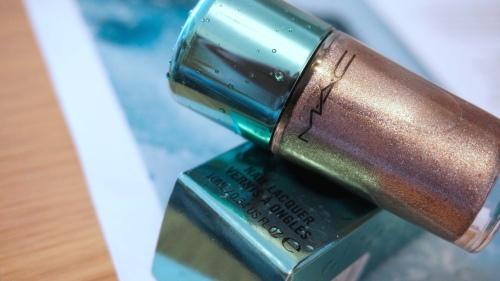 mac shimmerfish nail polish