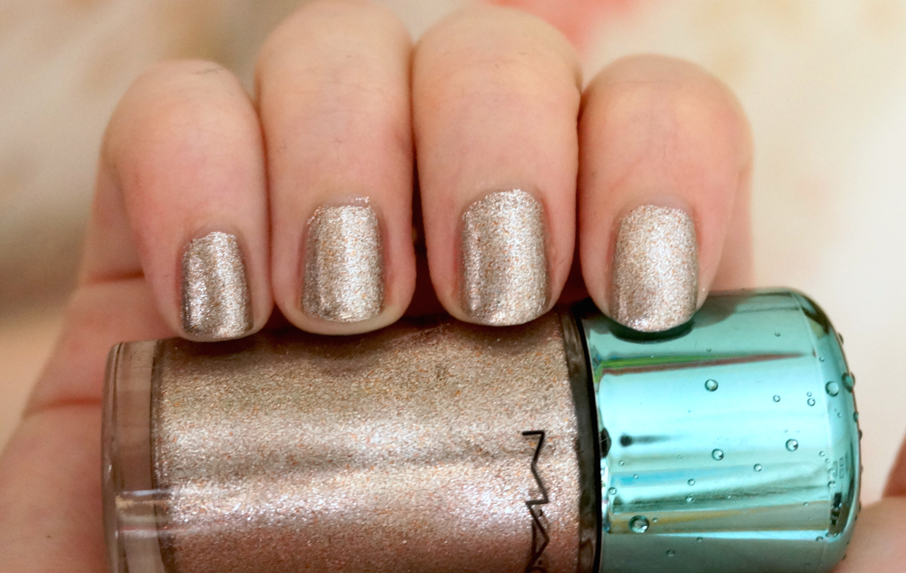 MAC Shimmerfish nail polish review, Alluring Aquatics Collection ...