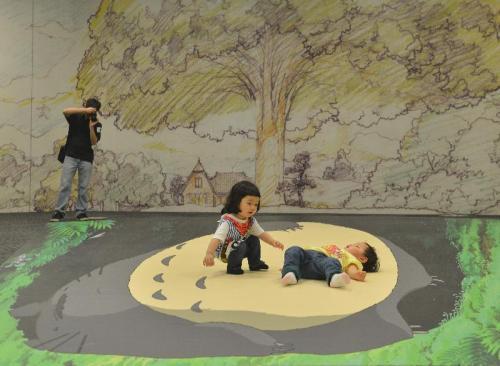 Studio Ghibli Layout Designs HK Heritage Museum Totoro