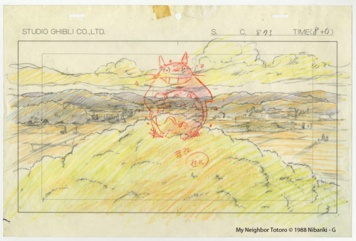 Studio Ghibli Layout Designs My Neighbour Totoro