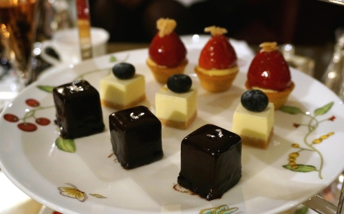 tiffin afternoon tea langham hong kong cakes