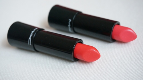 mac mineralize rich lipsticks lady at play and be a lady