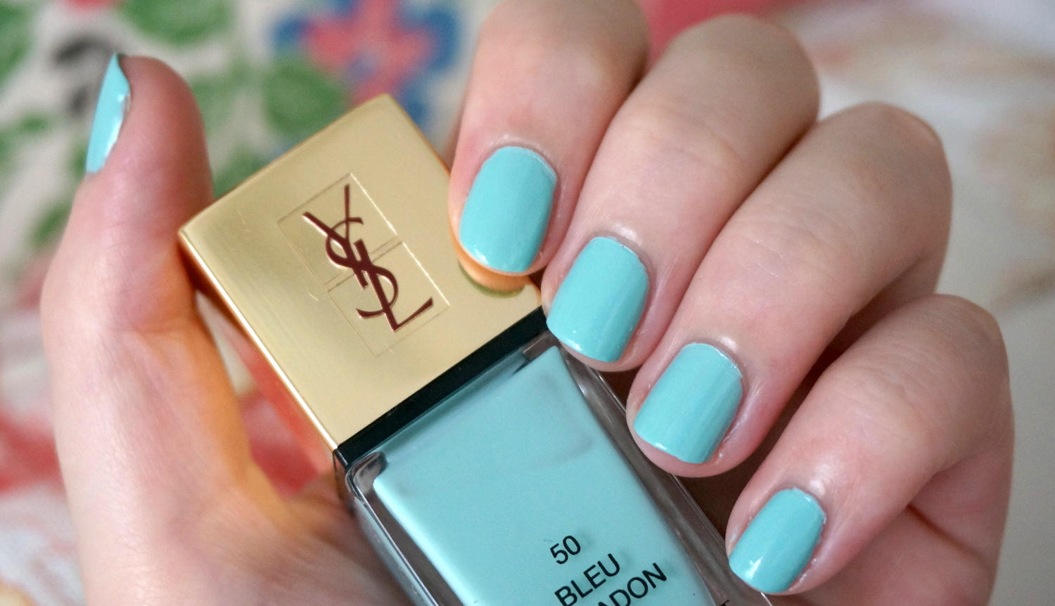 best blue nail polish | Through The Looking Glass