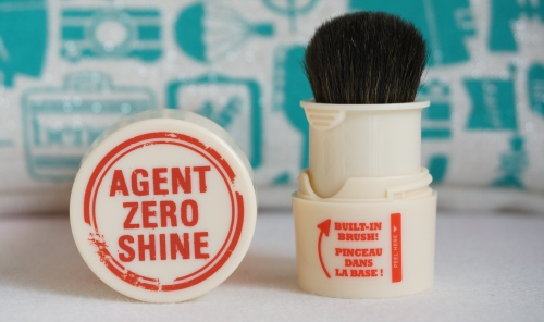 benefit agent zero shine brush
