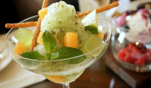 four seasons hong kong ice cream green crush
