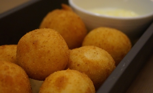 isono hong kong cod croquettes