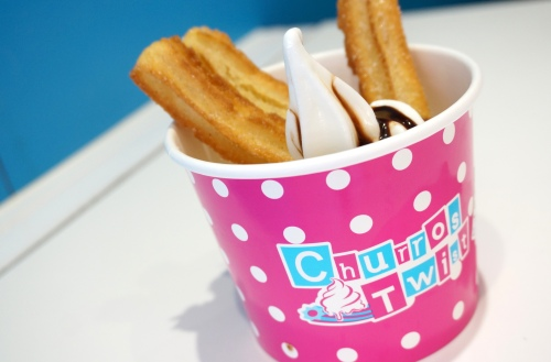 churros twist hong kong fro-yo