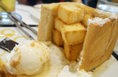 dazzling cafe hong kong honey toast