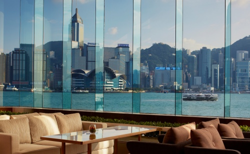 the intercontinental hong kong lobby lounge