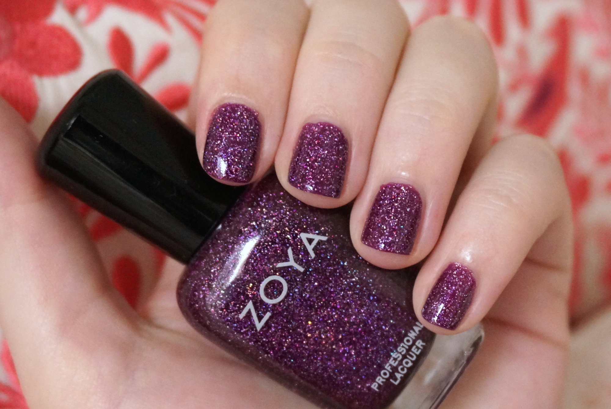 best holographic nail polish through the looking glass