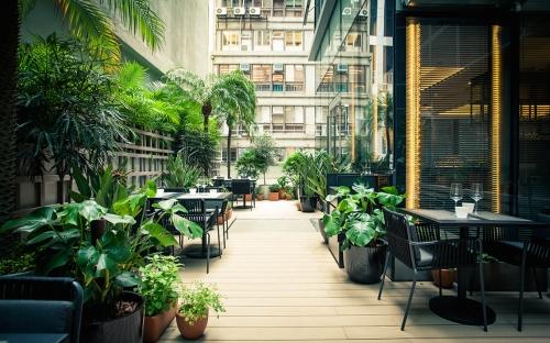 Arcane Hong Kong terrace