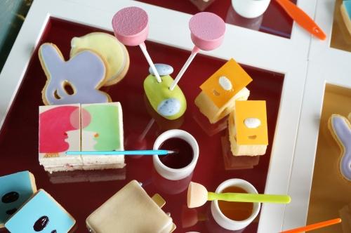 grand hyatt hong kong art afternoon tea