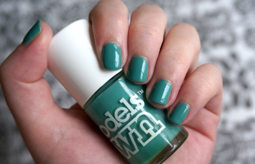 models own slate green swatch