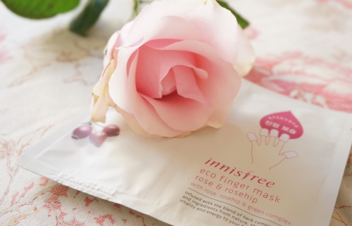innisfree eco finger mask rose