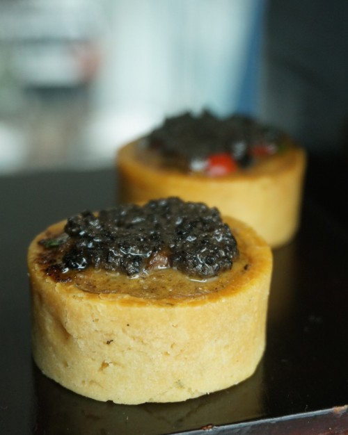 ritz carlton hong kong afternoon tea pierre herme truffle mushroom tart