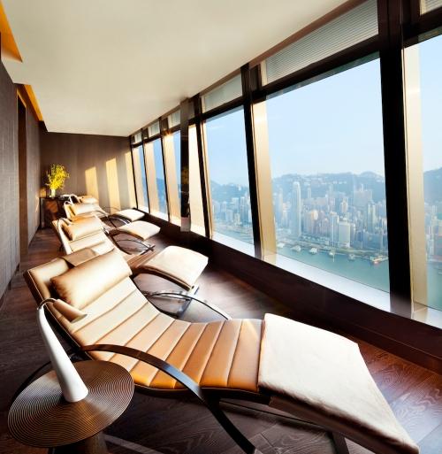 ritz carlton Spa hong kong - Relaxation Lounge