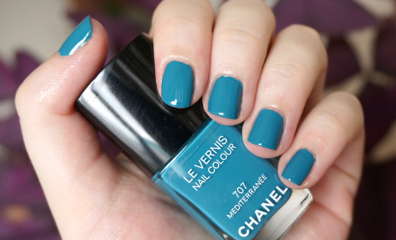 Chanel Mediterranee nail polish review | Through The Looking Glass