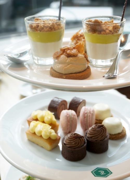 the continental hong kong afternoon tea set