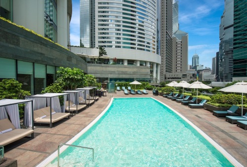 Conrad Hong Kong Swimming Pool