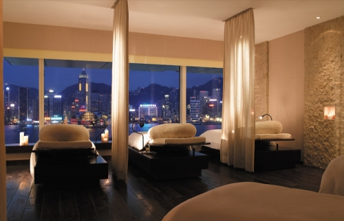 Peninsula Spa Hong Kong Relaxation Room